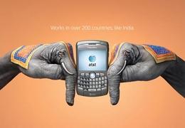 無線通信運營商創意廣告設計