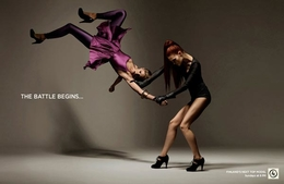 時尚美女廣告設計欣賞