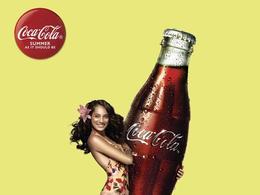 可口可樂美女廣告欣賞