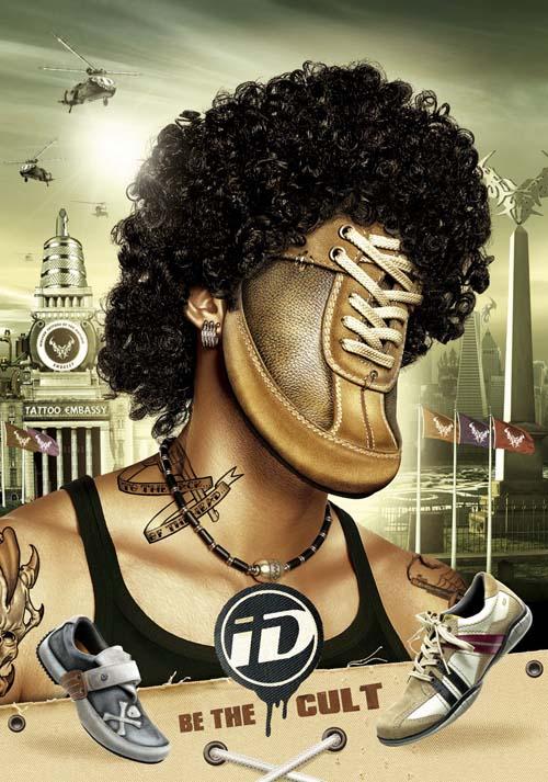 ID运动鞋创意时尚设计欣赏