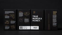 The True Honey蜂蜜创意包装包装设计欣赏