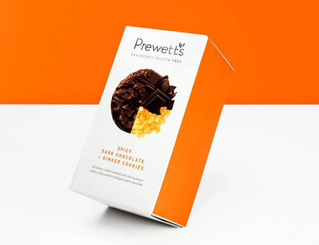 Prewetts高档曲奇饼干包装包装设计欣赏