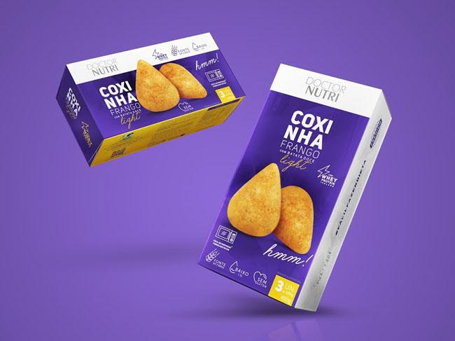 Doctor Nutri速冻食品系列包装欣赏
