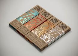 CRUDE原味巧克力包装包装设计欣赏