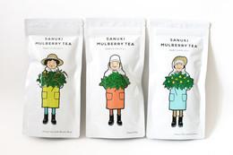 亲切讨喜的采茶妇女 茶叶包装