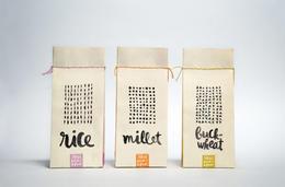 自然手作感的公平貿易食物包裝