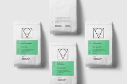 MOK 咖啡店 識別包裝