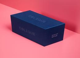 俏麗粉紅 x 沉靜寶藍 時尚品牌包裝