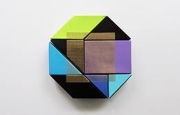 幾何拼成的禮盒包裝