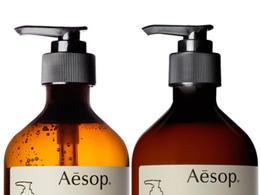 Aesop 瓶子標簽設計