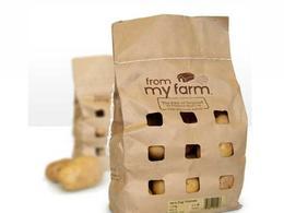 馬鈴薯 牛皮紙袋包裝