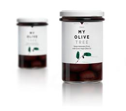 天然的清新滋味 橄欖油包裝