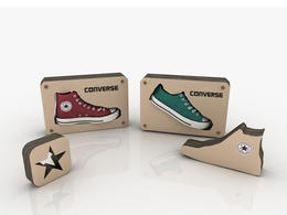 Converse 鞋子包裝
