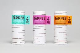 來自樺木的水 樹皮紋路的瓶身設計