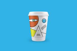 抽象派眼中的咖啡
