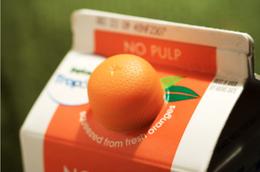 柳橙汁的瓶蓋設計