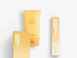漸層紋理美 保養品包裝設計