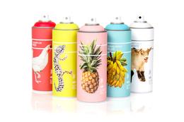 關於顏色 繽紛噴漆罐