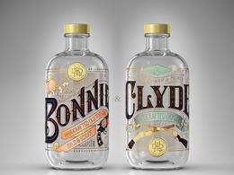 BONNIE & CLYDE琴酒精彩包裝欣賞