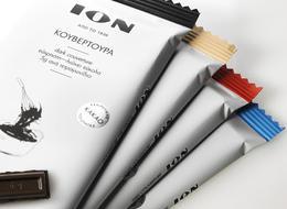 ION黑巧克力系列简洁包装欣赏