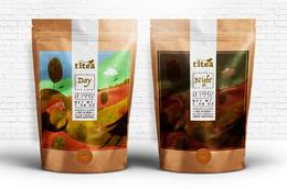 漂亮的TITEA排毒茶包装欣赏