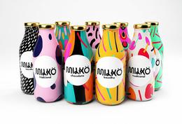 多彩的Milko牛奶包装包装设计欣赏