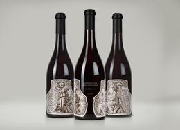 Garnacha Centenaria葡萄酒瓶貼包裝設計欣賞