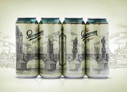 Staropramen啤酒易拉罐包裝欣賞