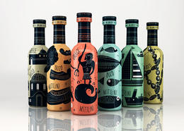 Ouzo Mitilini茴香酒纪念版包装包装设计欣赏