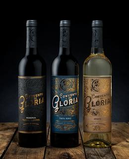 Gloria葡萄酒包装包装设计欣赏
