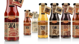 Delika酱料系列瓶贴包装设计欣赏