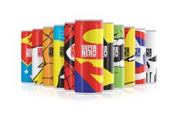 Super hero超级英雄系列能量型饮料包装设计