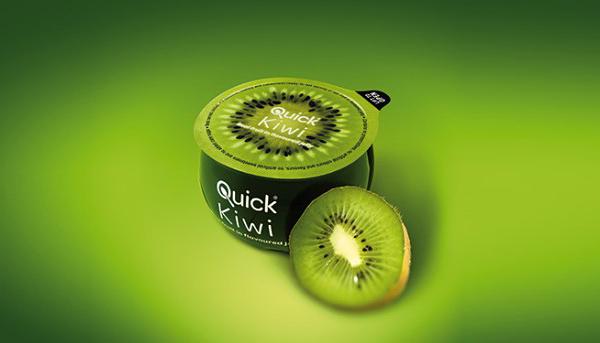 清爽的Quick果冻包装设计