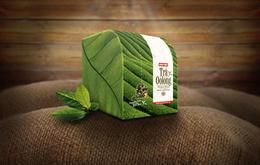 越南传统品牌Cau Tre乌龙茶包装设计