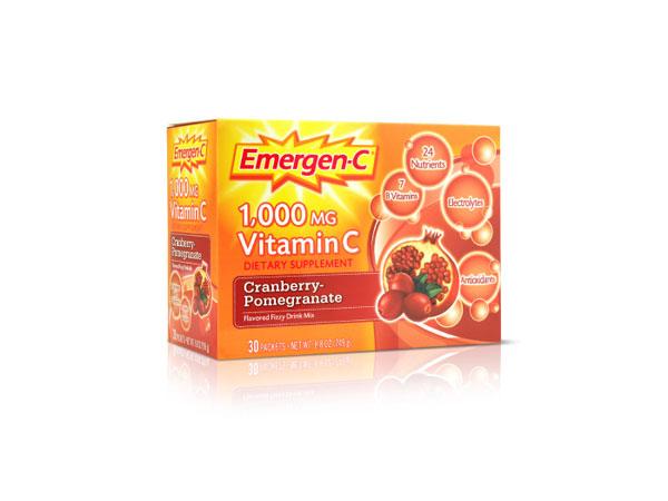 Emergen-C天然维生素系列包装案例欣赏
