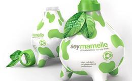 Soy Mamelle牛奶经典创意包装欣赏