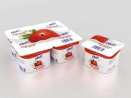 OKe草莓味酸奶清新包装欣赏