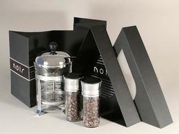 一款有創意的咖啡豆組合包裝欣賞