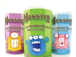 罐裝怪味食品卡通包裝欣賞