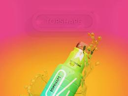 Topshape维生素矿泉水包装欣赏