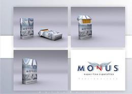 塞尔维亚Monus卷烟生产公司香烟包装
