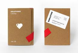 Solutions目录画册设计欣赏