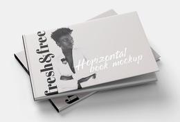 Mockups Design时尚画册模版设计分享