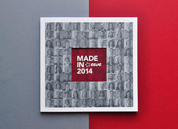 歐洲EAVE視聽企業回憶錄畫冊設計《made in eave 2014》