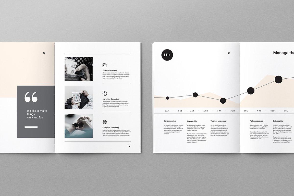 H+1项目提案说明书设计欣赏