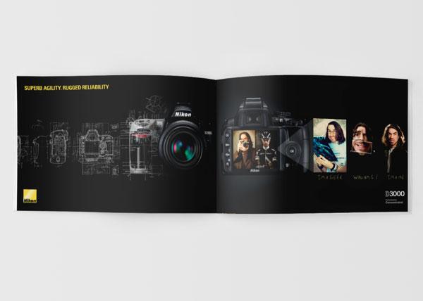 Nikon尼康数码相机画册设计欣赏