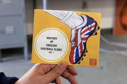 英國足球俱樂部歷史手冊設計