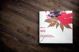经典画册TASTE全本优秀设计页精选