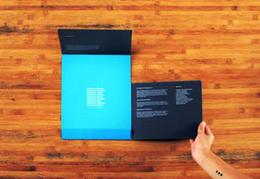 國外創意企業樣本畫冊封套設計精選