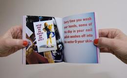 Trina畫冊封面與排版樣式